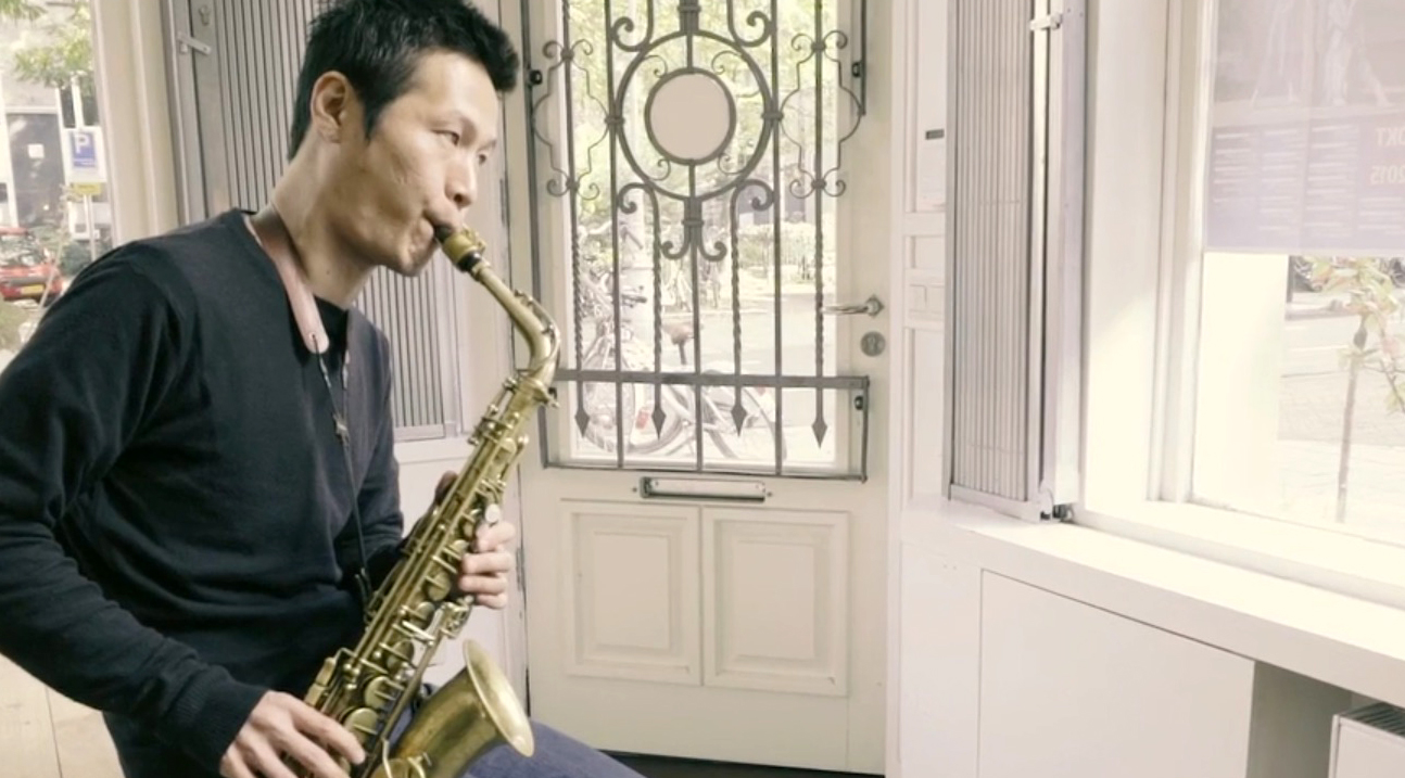 Genzo Okabe visits Amsterdam Winds in Japanese KLM film