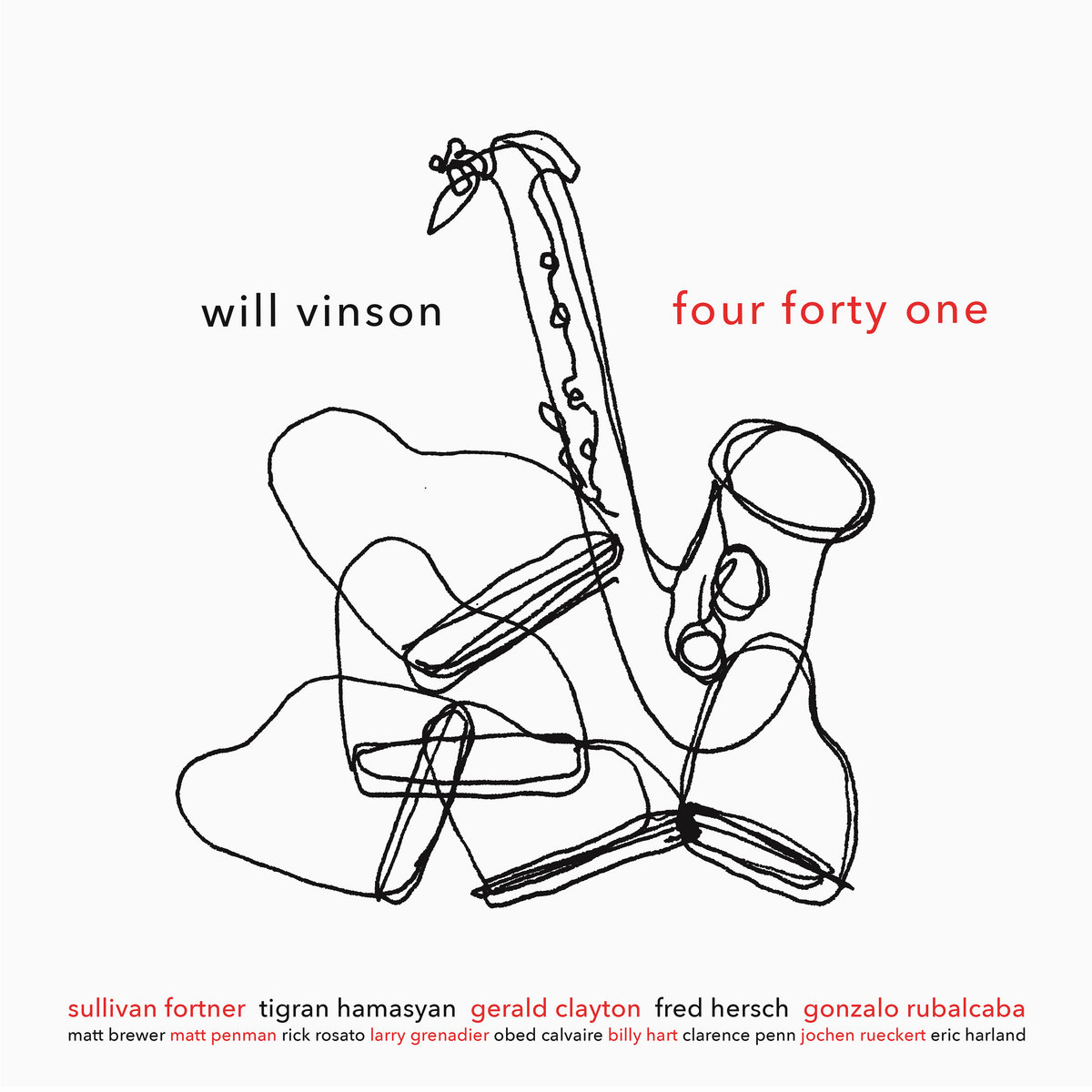 Four forty one –  Will Vinson's latest release on Free Wind alto