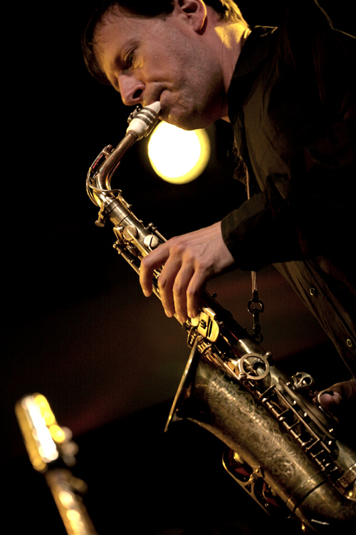 Chris Potter playing Amsterdam Free Wind alto sax
