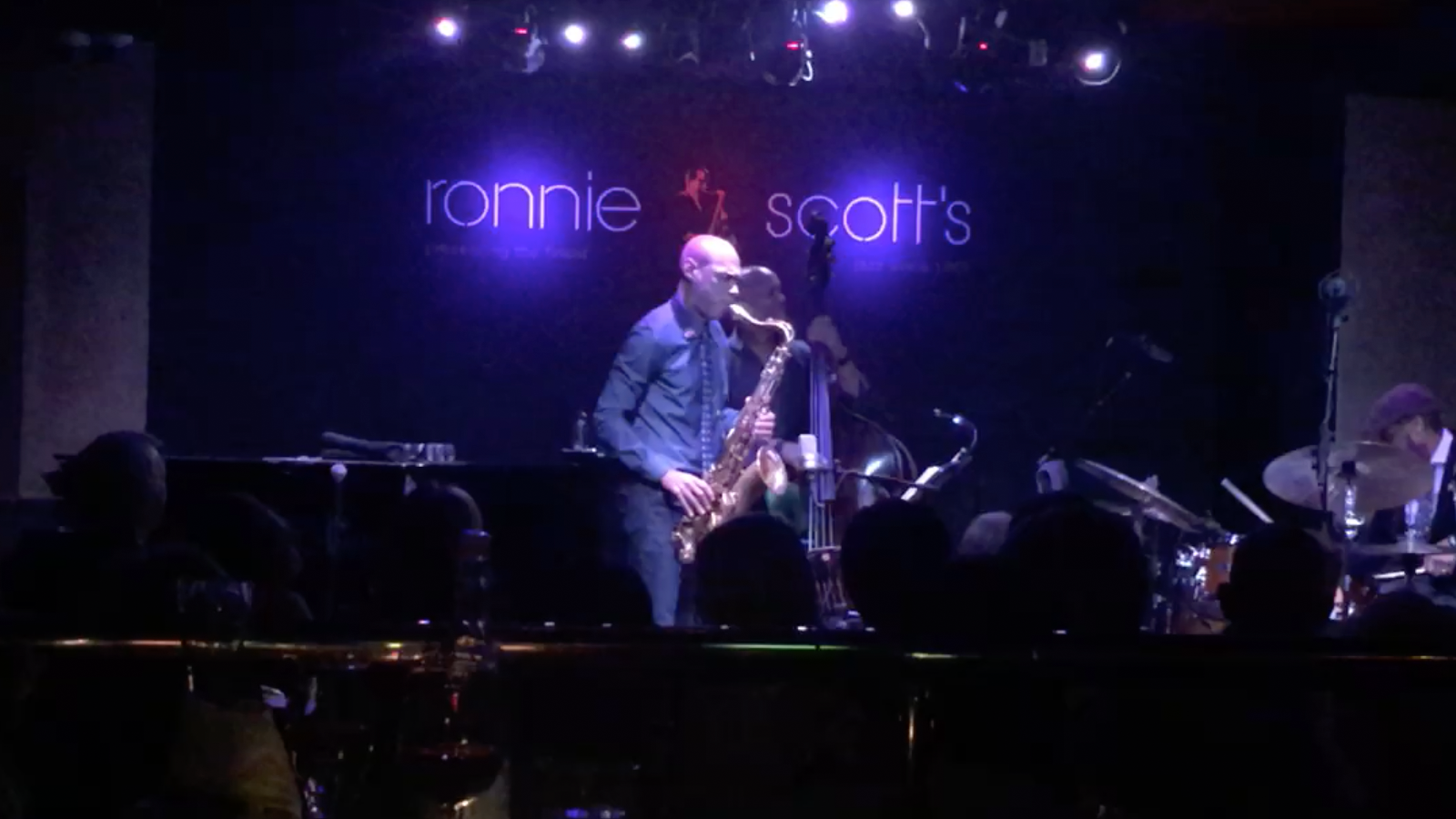 Joshua Redman plays our tenor at Ronnie Scott's, London