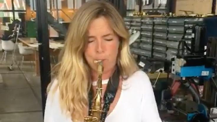 Candy Dulfer Amsterdam Free Wind alto saxophone