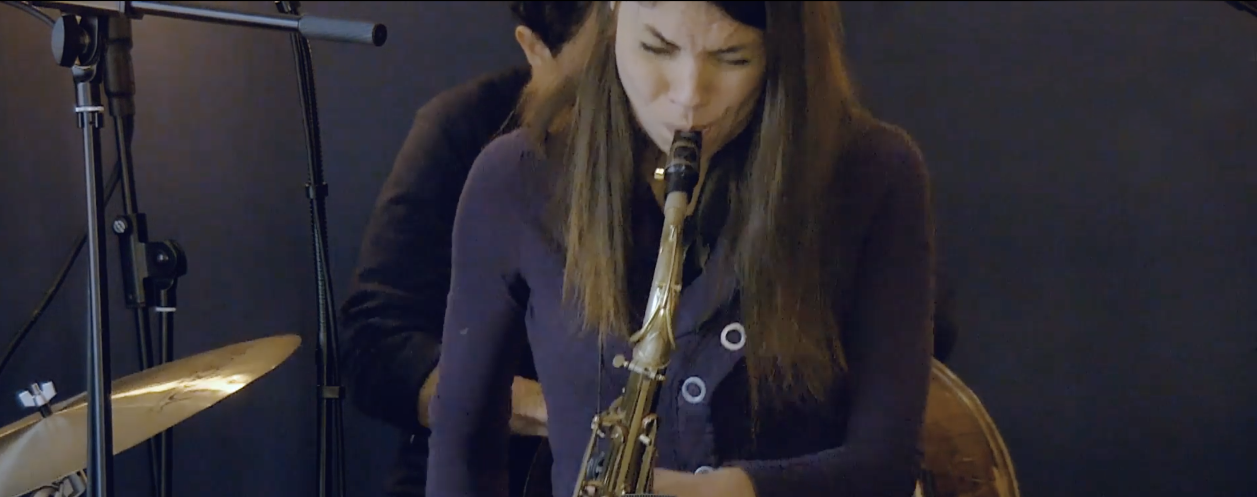 Melissa Aldana chooses to play the Amsterdam Winds tenor saxophone neck