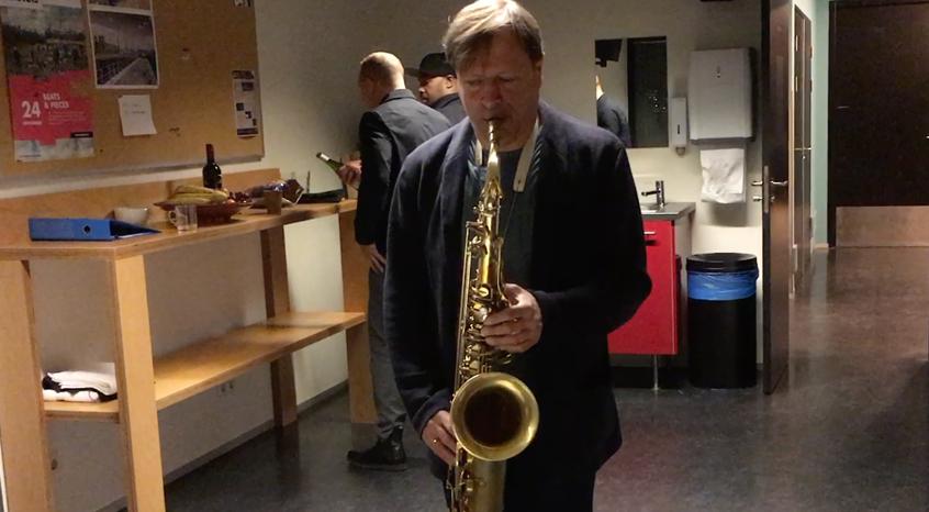 Chris Potter on Amsterdam Wind tenor saxophone