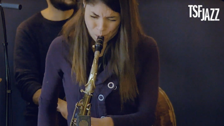 Melissa Aldana playing the Amsterdam Winds neck