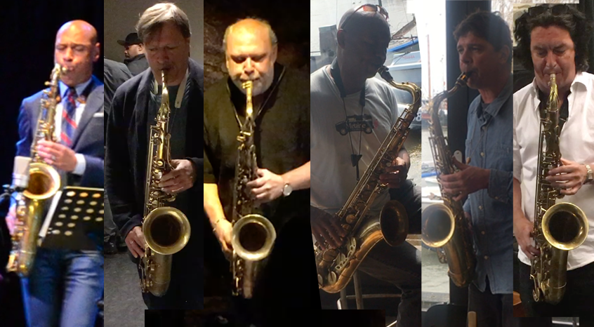 Testing the Amsterdam Winds tenorsaxphone by world class players